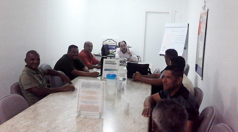 Plano de Carreira   Presidente Jessé debate tema com trabalhadores de Obras