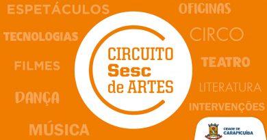 Circuito Sesc de Artes | Confiram as apresentações artísticas on-line até 19 de setembro