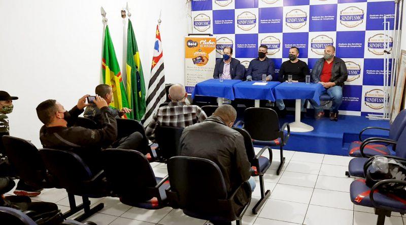 Segurança   Sindicato questiona secretário Alexandre Rodrigues sobre as demandas dos GCMs